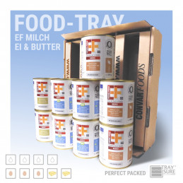 FOOD-TRAY EF Milch/Ei/Butter